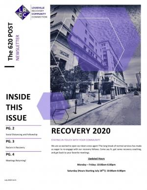 LRCC Newsletter (July 2020)