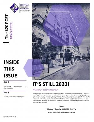 LRCC Newsletter (September 2020)